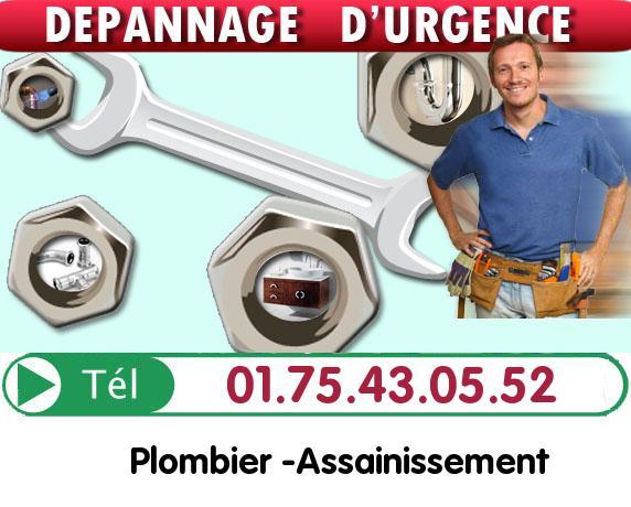 Canalisation Bouchée Val-d'Oise