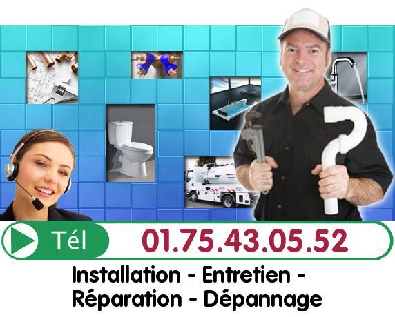 Degorgement Colonne Chaville 92370