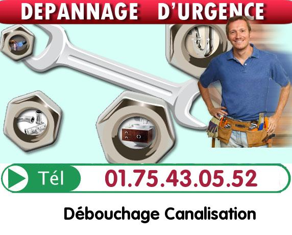 Degorgement Colonne Clichy 92110