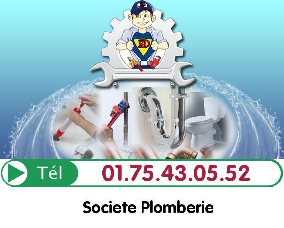 Degorgement Colonne Le Plessis Robinson 92350