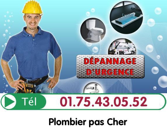 Degorgement Colonne Paris 12
