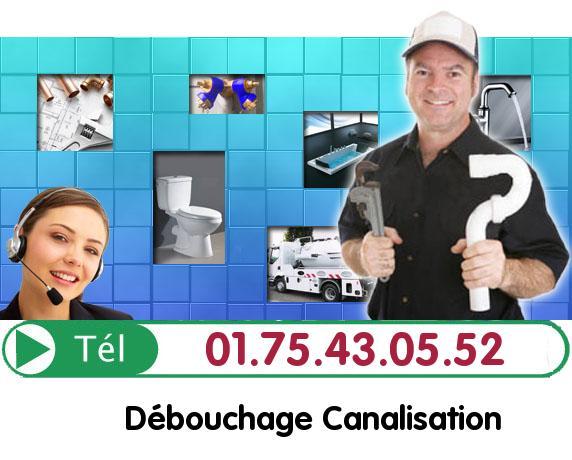Degorgement Colonne Paris 19