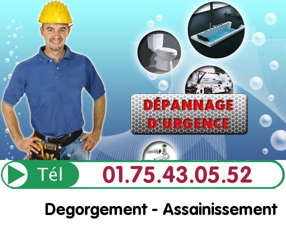 Degorgement Colonne Paris 6