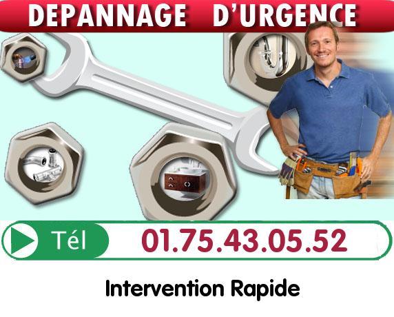 Degorgement Colonne Saint Cloud 92210