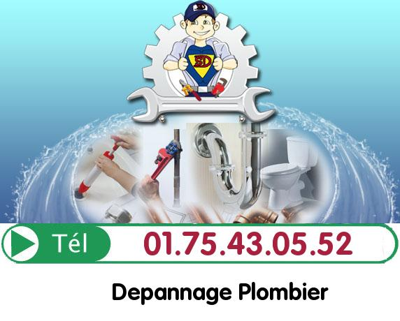 Urgence Plombier Bruyeres sur Oise 95820
