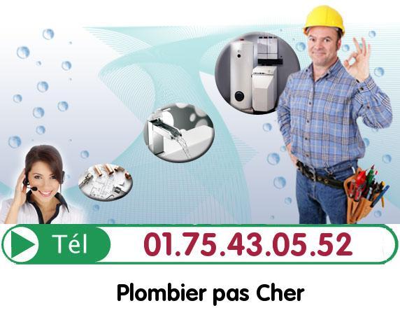 Urgence Plombier Neuville sur Oise 95000